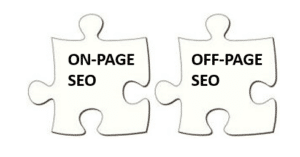 on-page seo off page seo